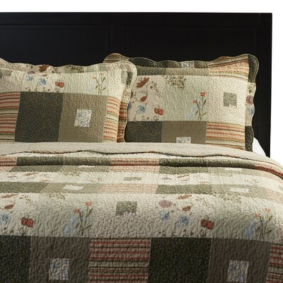 Helma 3 Piece Quilt Set Size: King