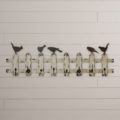 Herault Birds of a Feather Multipurpose Coat Rack