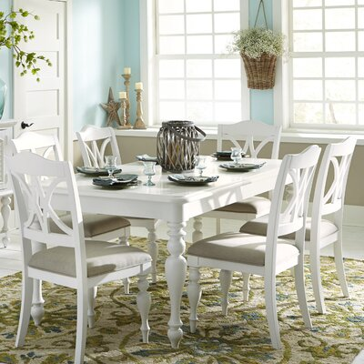 Montvert Dining Table Finish: White