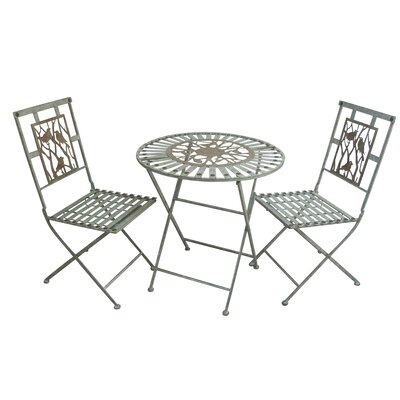 Superior Birds on Branches 3 Piece Bistro Set
