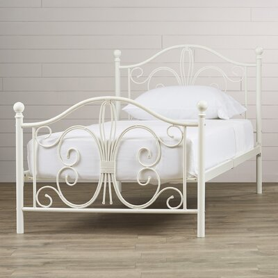 Bombay Platform Bed Size: Twin, Finish: Off-White
