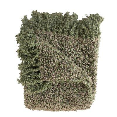 Ashton Woven Throw Blanket Color: Willow