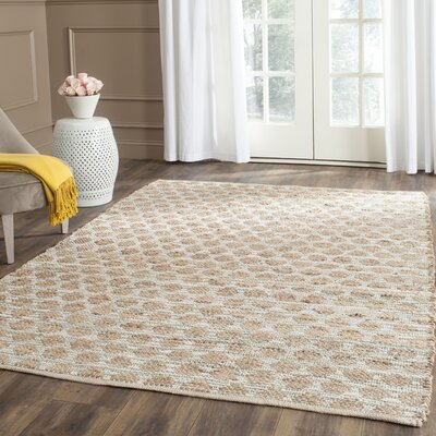 Zap Hand-Woven Brown Area Rug Rug Size: Rectangle 10 X 14