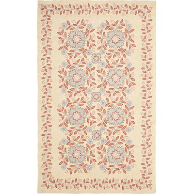 Folklore Hand-Loomed Dune Area Rug Rug Size: 5 x 8