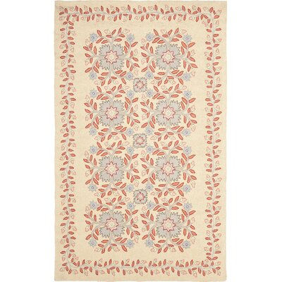 Folklore Hand-Loomed Dune Area Rug Rug Size: 4 x 6