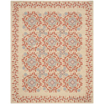 Folklore Hand-Loomed Dune Area Rug Rug Size: 9 x 12