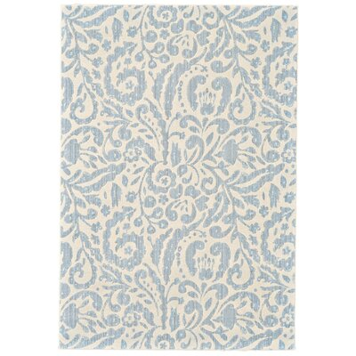Waynesboro Hand-Woven Mist Area Rug Rug Size: Rectangle 53 x 76