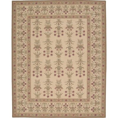 Centerville Handmade Light Gold Area Rug Rug Size: Rectangle 39 x 59