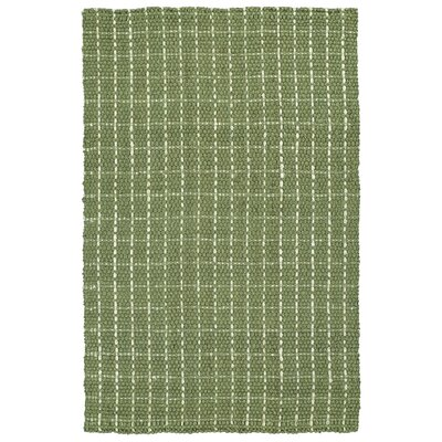 Drake Hand-Loomed Celery Area Rug Rug Size: 3 x 5