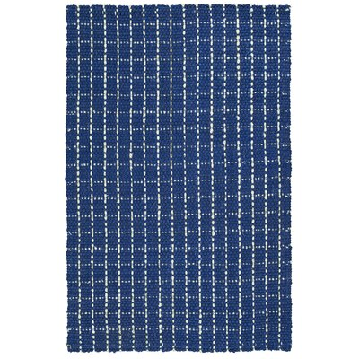 Drake Hand-Loomed Navy Area Rug Rug Size: Rectangle 8 x 10