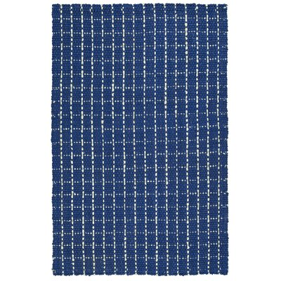 Drake Hand-Loomed Navy Area Rug Rug Size: 8 x 10