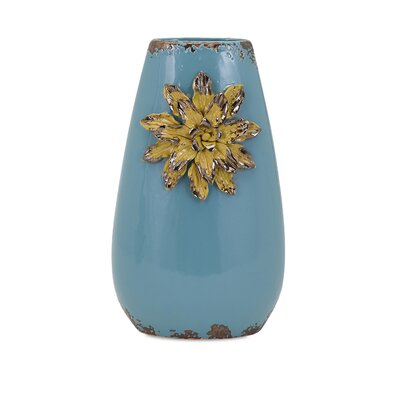 Saratoga Flower Tall Vase
