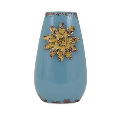 Saratoga Flower Tall Vase