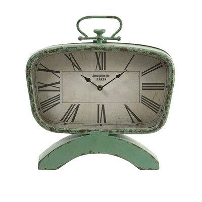 Rutledge Antique Styled Retro Mantel Clock