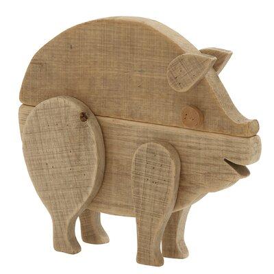 Alluring Pig Figurine