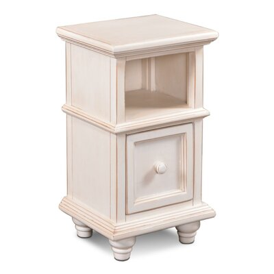 Ashleigh End Table Finish: Antique White