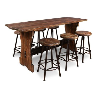 Conrad 7 Piece Counter Height Pub Table Set