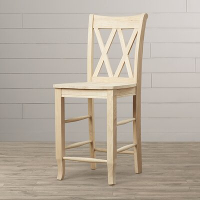 Toby 24 Wood Bar Stool