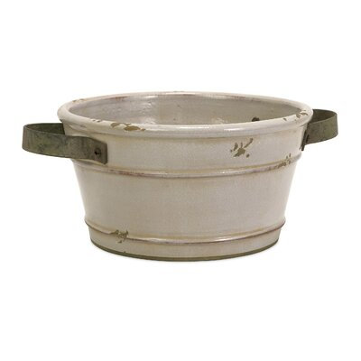 Scranton Composite Pot Planter Size: Small