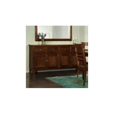 Leora Sideboard Finish: Chocolate