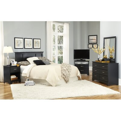 Della Platform Configurable Bedroom Set