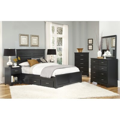 Della Storage Panel Bed