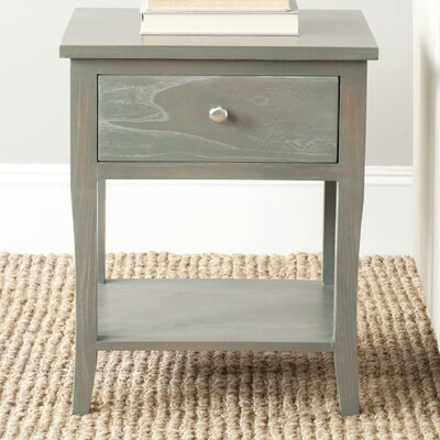 Alayna End Table Finish: French Grey