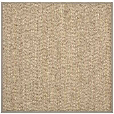 Leana Brown Area Rug Rug Size: Square 6