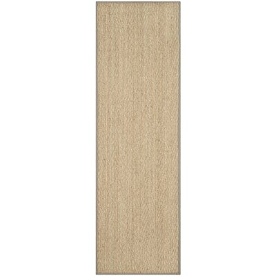 Leana Brown Area Rug Rug Size: Runner 26 x 6