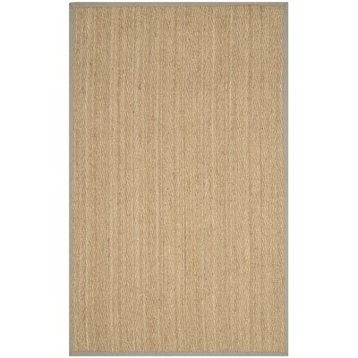 Leana Brown Area Rug Rug Size: 5 x 8