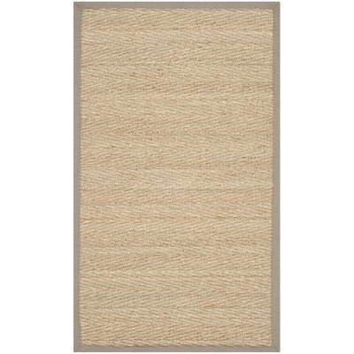 Leana Brown Area Rug Rug Size: 3 x 5