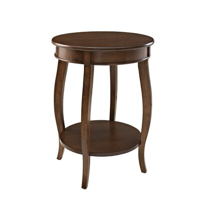 Kellie End Table Color: Hazelnut