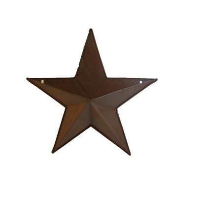 18 Natural Tin Star Pocket Sculpture