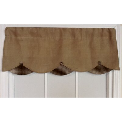 Bettie Burlap Petticoat 50 Curtain Valance
