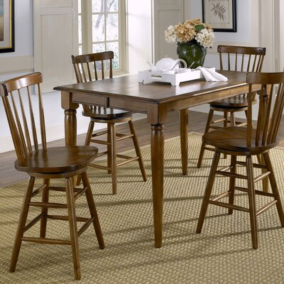 Marni Counter Height Dining Table Base Finish: Tobacco