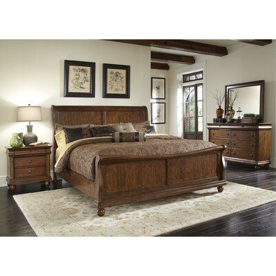 Oreana Sleigh Configurable Bedroom Set