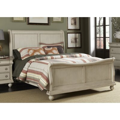 Pinesdale Sleigh Bed