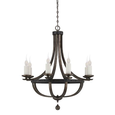 Betty-Jo 8-Light Candle-Style Chandelier
