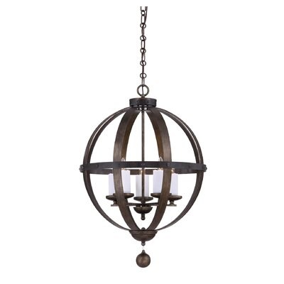 Betty-Jo 5-Light Foyer Pendant