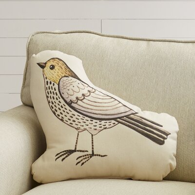 Bird Plush Throw Pillow