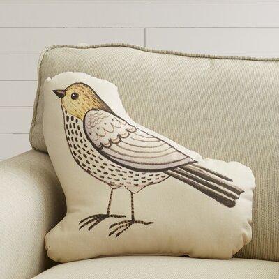 Bird Plush Throw Pillow