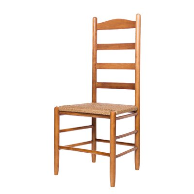 Arianna Solid Wood Dining Chair Color: Medium Oak