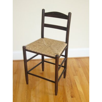 Blue Ridge 24 Bar Stool Finish: Walnut