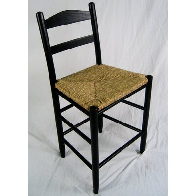 Blue Ridge 24 Bar Stool Color: Black