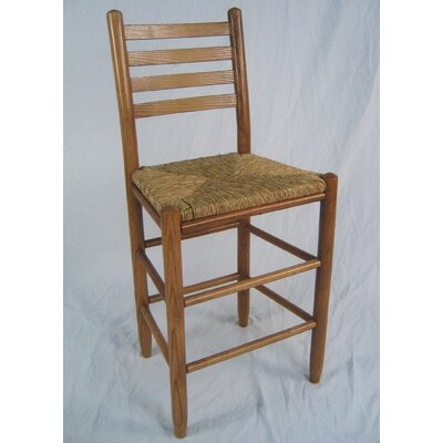 Blue Ridge 24 Bar Stool Color: Medium Oak