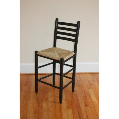 Blue Ridge 24 Bar Stool Finish: Black