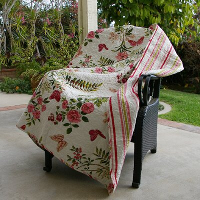 Arielle Quilted Cotton Throw
