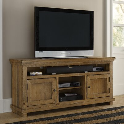 Willow 64 TV Stand Color: Distressed Pine