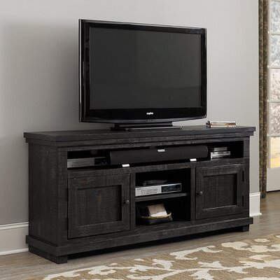 Willow 64 TV Stand Color: Distressed Black