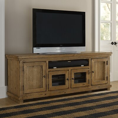 Willow 74 TV Stand Color: Distressed Pine